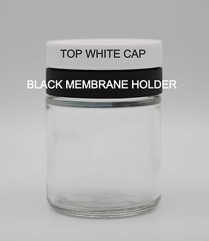 Top Cap and Membrane Holder Labelled