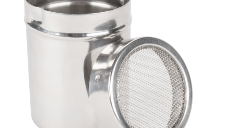 Mesh Top Stainless Steel Scent Can - Medium