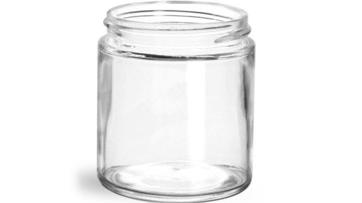 Medium (4 oz.) Glass Replacement/Extra Jar