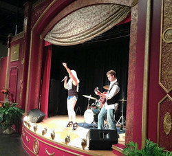 Melissa Ramski with guitarists Brad Bennett performing at TN State Mus