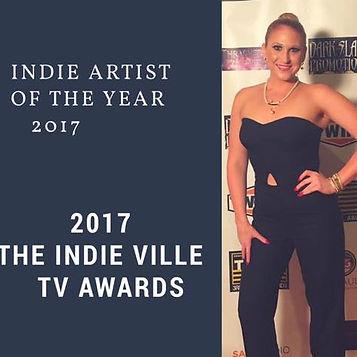 Melissa Ramski Indie Artist of the Year 2017