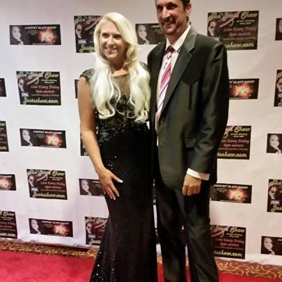 Melissa Ramski with Trey Young son of Farron Young