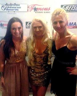 Nashville Universe Awards 2steelgirls and Melissa Ramski