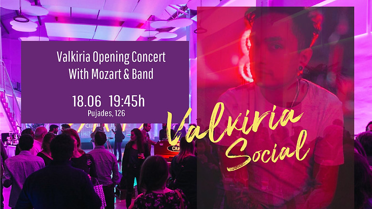 Valkiria Opening Concert With Mozart & Band