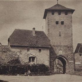 Untertor, Tour d'Ebersheim, Dambach-la-V
