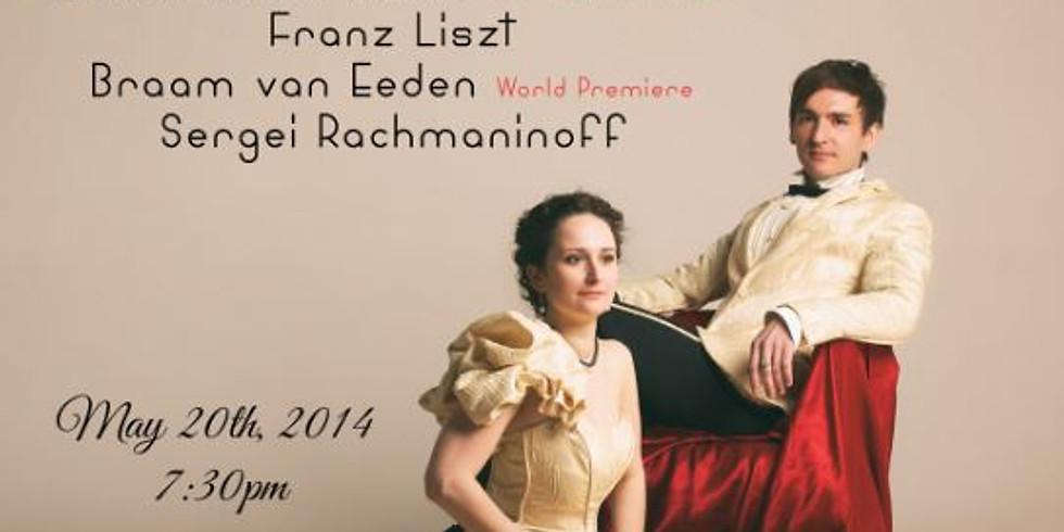 GetClassical presents: Vassily Primakov and Natalia Lavrova Piano Duo at Merkin Hall
