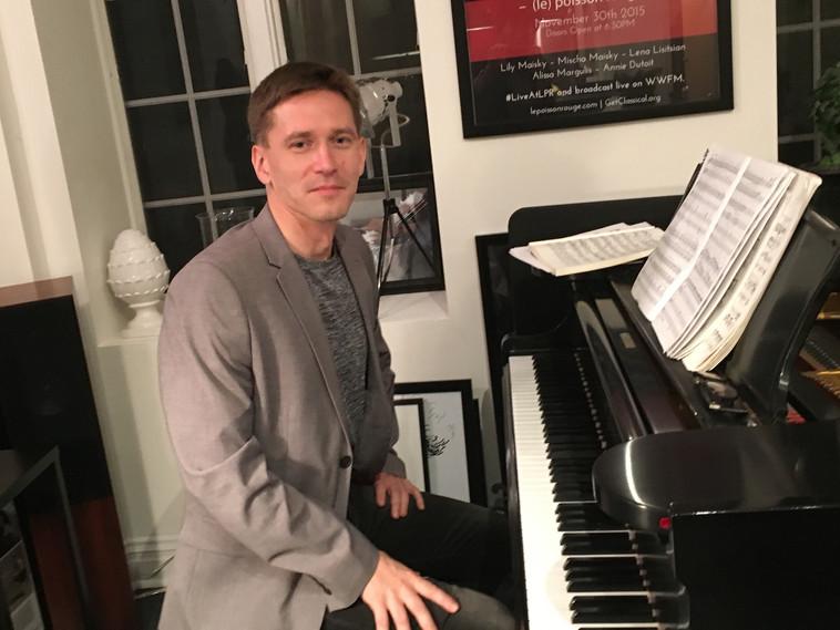 Pianist Vyachislav Gryaznov