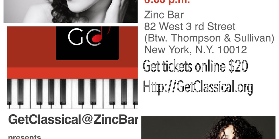 Moira Lo Bianco at Zinc Bar - following interview and Q&A with Romy Oltuski and Sergey Goordev