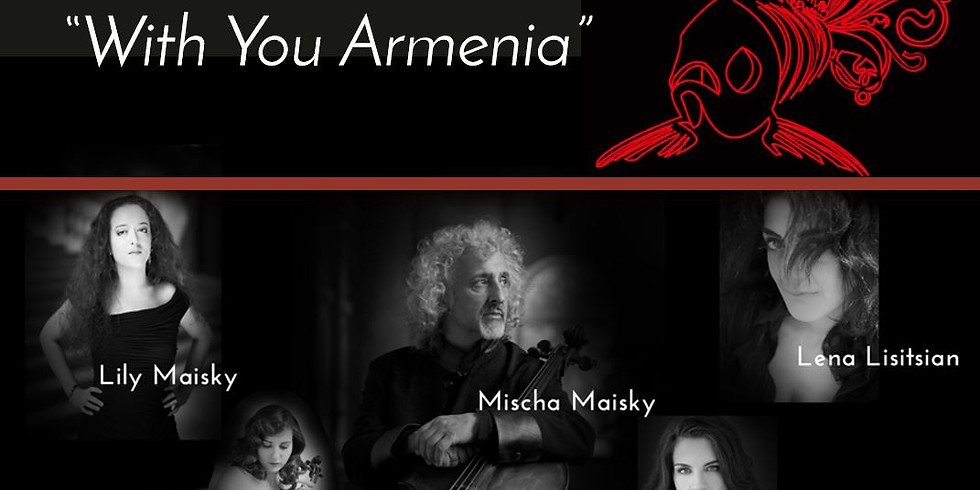 """With you Armenia"" Mischa Maisky at LPR"