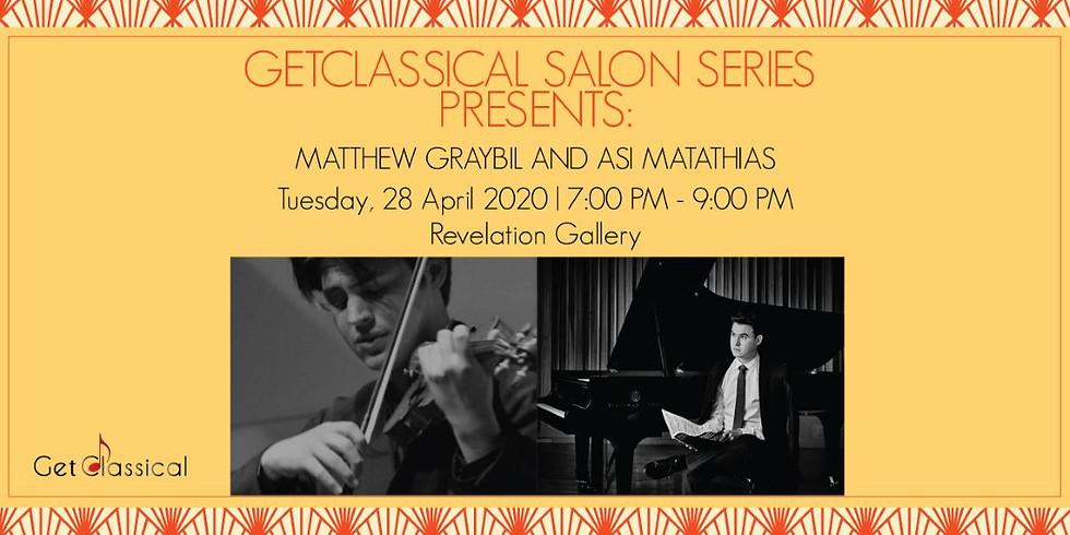 Asi Matathias, violin and Matthew Graybil, piano