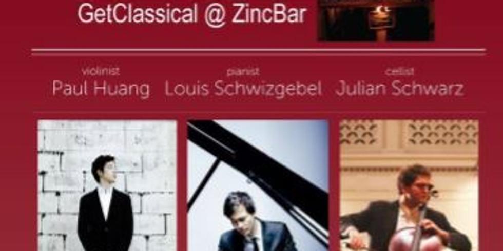 Violinist Paul Huang, Pianist Louis Schwizgebel and Cellist Julian Schwarz