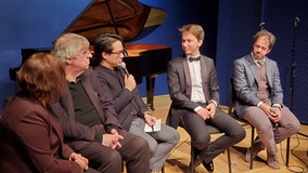 onstage discussion with pianist Daumants Liepins