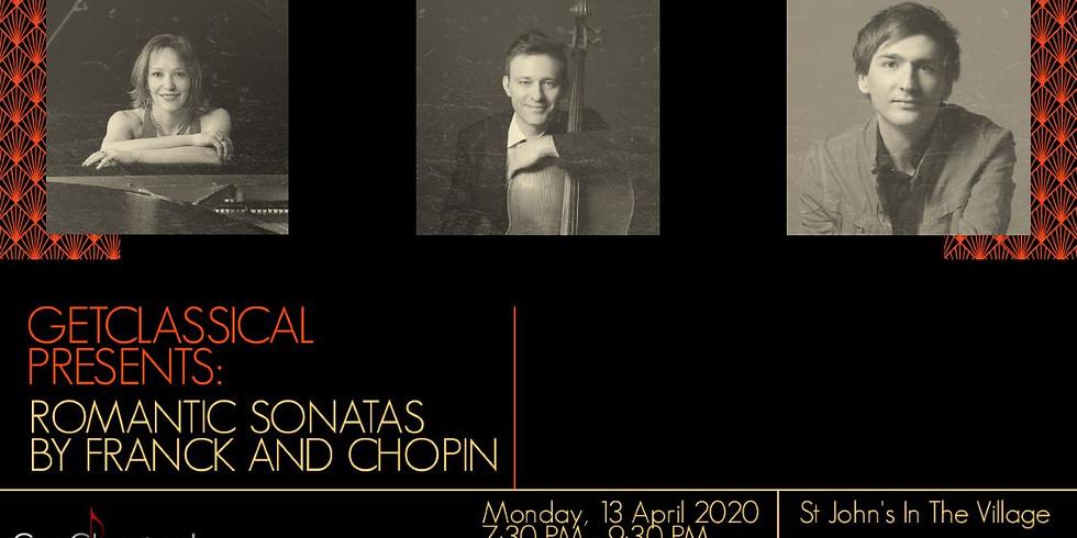 Romantic Sonatas by Franck and Chopin