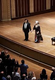 Martha Argerich and Sergey Babajan
