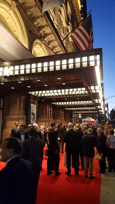 Carnegie Hall opening night