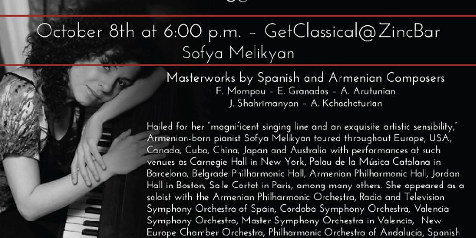Pianist Sofya Melikyan - GetClassical@Zincbar