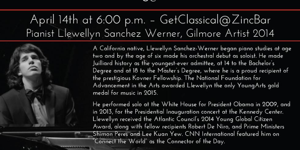 Pianist Llewellyn Sanchez Werner