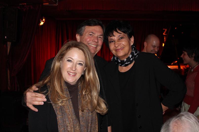 With Jodie and Gerard Schwarz