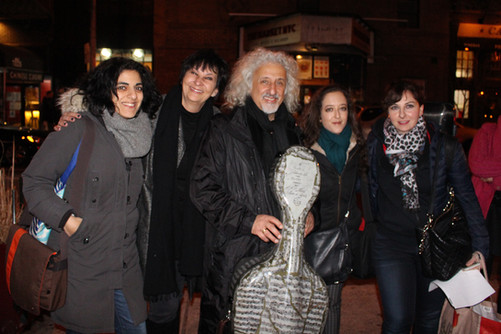 with Mischa Maisky and friends