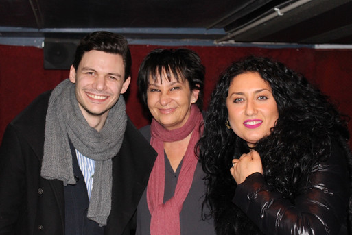 David Aladashvili and Anita Rachvelishvili visit at GC ZIncabr