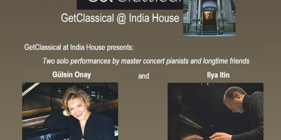 Ilya Itin and Guelsin Onay - masters' selection (works by Rachmaninov and Debussy)