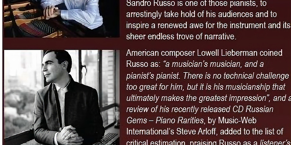 GetClassical @ India House presents: Pianist Sandro Russo