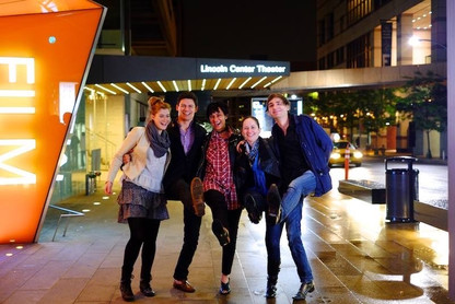 Lincoln Center after concert