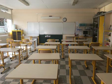 Nouvelle organisation scolaire depuis la rentrée