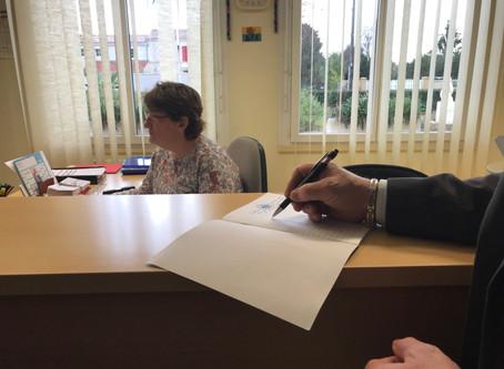 Un cahier de doléances disponible à la mairie