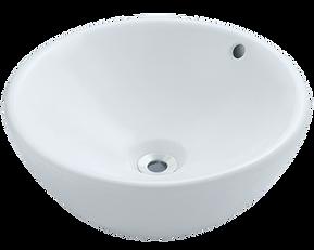 White Porcelain Vessel Round Sink.png