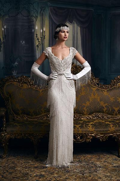 Carlotta Bridal Gown by Eliza Jane Howell
