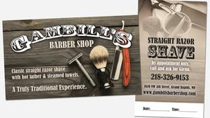 Print Marketing Gambills Business Card