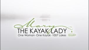 Mary the Kayak Lady Logo Design