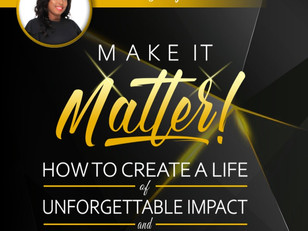 The Launch Of The Make It Matter Project