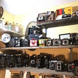 Plusieurs appareils photos