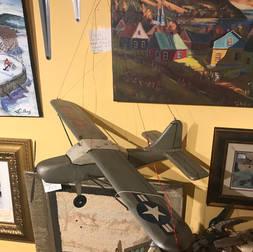 Avion en bois 24 pouces