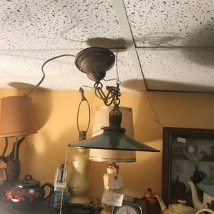 Lampe en granit 12 pouces de diamètre