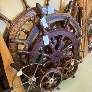 Des roues de bateau