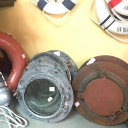 Hublots galvanisés 14 pouces de diamètre