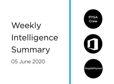 05 June 2020 | Asia Cyber Summary