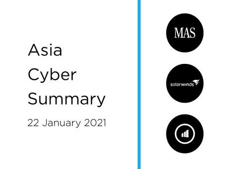 22 January 2020 | Asia Cyber Summary