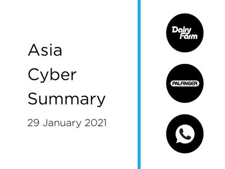 29 January 2020 | Asia Cyber Summary