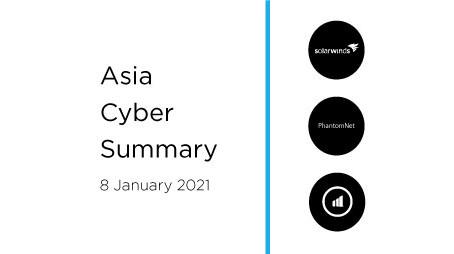 8 January 2020 | Asia Cyber Summary