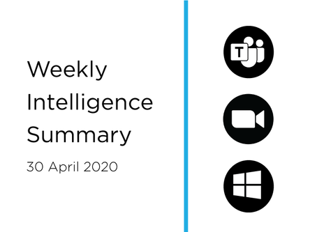 30 April 2020 | Asia Cyber Summary