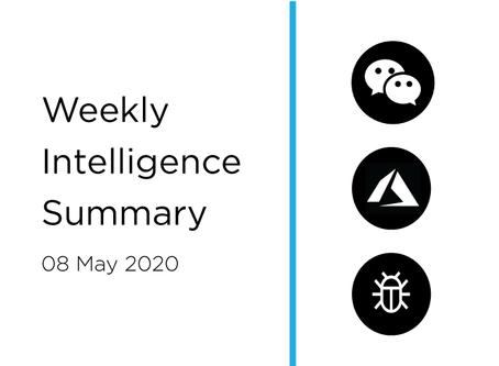 08 May 2020 | Asia Cyber Summary