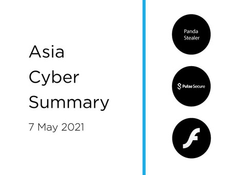 7th May 2020 | Asia Cyber Summary