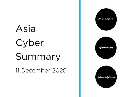 11 December 2020 | Asia Cyber Summary