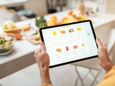 La tendance du e-commerce food