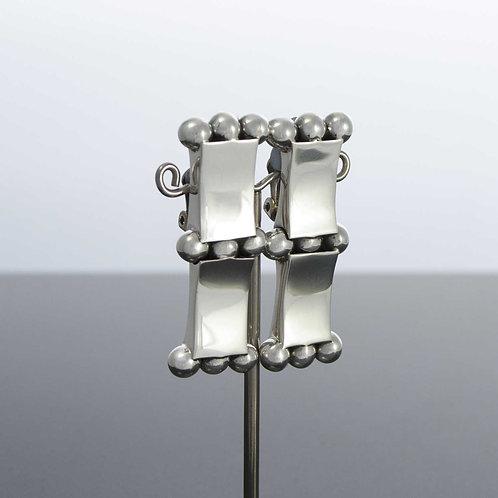 Bar & Ball Earrings