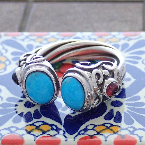 Mayan Stone Ring